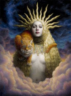 Hemera by Chie Yoshii. In greek mythology Hemera (Ἡμέρα- day) was the goddess of daytime and one of the greek primordial deities. She is the personification of day and the daughter of Erebus, god of darkness, and Nyx, goddess of the night. Greek And Roman Mythology, Norse Mythology, Greek Gods, Sacred Feminine, Divine Feminine, Mythological Creatures, Mythical Creatures, Goddess Art, Norse Goddess