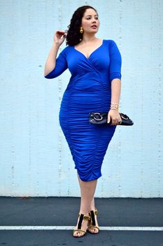 This is a positive image of a curvy woman flaunting her body. Young adolescents should aspire to have this confidence and be comfortable with their own self image.