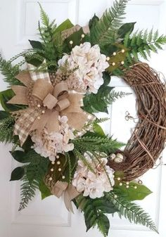 Creative Wreath You Have To Craft In Fall This Year 36 #christmaswreaths
