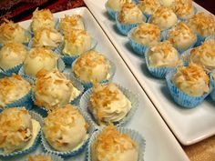 Food Tastes Good!: Toasted Coconut-Golden Oreo Cookie Balls