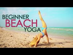 Beginner Beach Yoga, Build Up your Backbends with Kino - YouTube