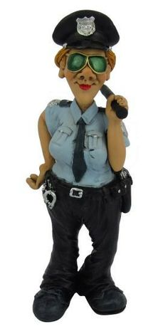 FEMALE POLICEWOMAN   WARREN STRATFORD LADY COP