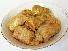 Citromhab: Töltött káposzta Hungarian Recipes, Hungarian Food, Shrimp, Side Dishes, Cabbage, Meat, Chicken, Cooking, Google