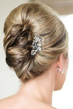 mother of the bride hairstyles elegant updo with accessories for short hair tinajayphotography