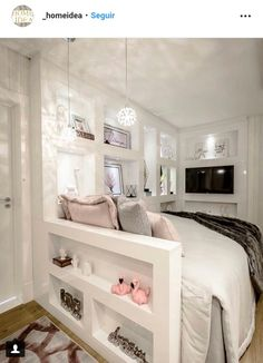 30 Cool Basement Bedroom Ideas 2020 (You Wanna Try Have you got an empty basement? If so, why don't turn it into a cool basement bedroom? You can even make it a guest bedroom or even an extra master bedroom. Source by noemishaeffer Room Makeover, Dream Bedroom, Bedroom Design, House Rooms, Room Inspiration, Basement Bedrooms, Small Bedroom, Girl Bedroom Decor, Dream Rooms