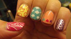 Spring nail art (4) Spring Nail Art, Spring Nails, Nail Designs, Polish Nails, Best Nail Designs, Nailed It, Nail Art, Nail Desings, Nail Design