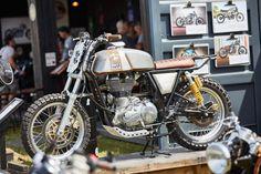 """Dirty Duck"" Royal Enfield Scrambler #motorcycles #scrambler #motos | caferacerpasion.com"