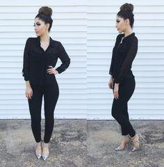 #allblack #fashion #dressycasual