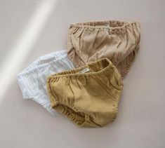 summer & storm baby bloomers in cotton gauze
