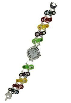 Flip Flops Bracelet Watch-