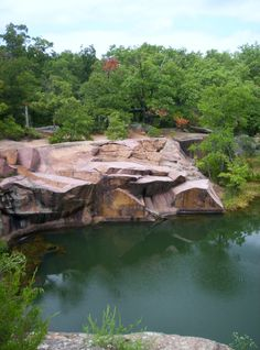 Elephant Rocks In Belleview, Missouri