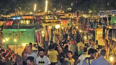 #Goa is the perfect destination for the #shopaholic as it presents a multitude of markets and #shopping centres to cater to your needs.Flea markets are ideal for this, and the Saturday Night market at #Arpora #Goa is the perfect way to spend a pleasant evening.