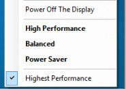 Comparing Power Saver, Balanced & High Performance Plans In Windows....