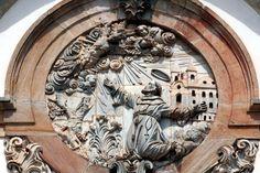Aleijadinho: frontispício da Igreja de São Francisco em Ouro Preto