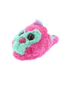45e1b98e51b0 Get comfy in these extremely soft girls Hatchimals plush scuff slippers!  These cozy slip-
