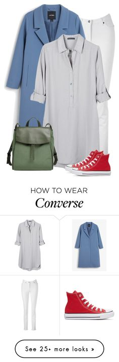 """""""Untitled #768"""" by oxigenio on Polyvore featuring Monki, United by Blue, Converse and Skagen"""