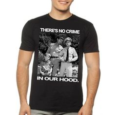 Andy Grifith No Crime Men's Graphic Tee