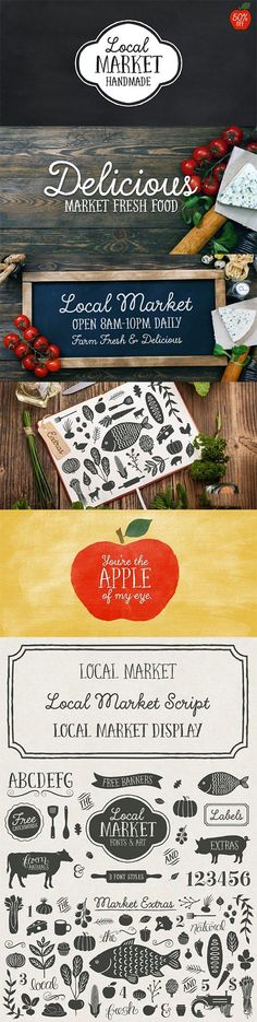 Local Market Font Family
