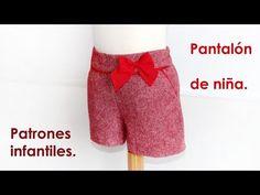 Shorts niña con bolsillo francés. DIY | Manualidades