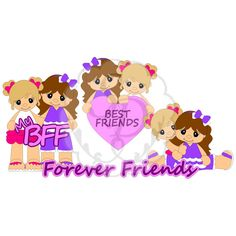 Scrappy Dew Best Friends Forever