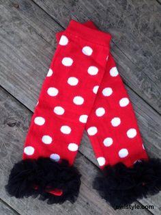 Red and white polka dot leg warmers, Minnie Mouse leg warmers, Minnie Mouse costume, halloween costume - http://evilstyle.com/red-and-white-polka-dot-leg-warmers-minnie-mouse-leg-warmers-minnie-mouse-costume-halloween-costume