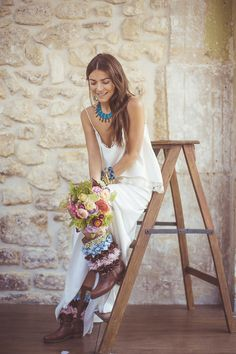 Boho Bride | Camille Marciano for Junophoto | Bridal Musings Wedding Blog 9