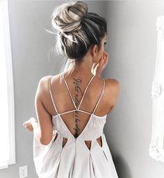 """""""In #love with @kelsrfloyd's back #tattoo. ✨"""""""