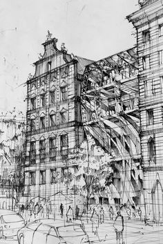 Architecture Drawings by Artur Stepniak