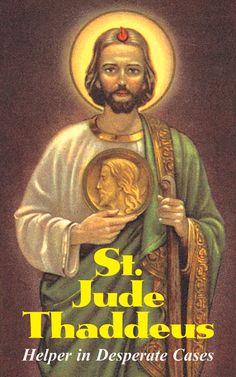Saint Jude | Prayers to St. Jude Thaddeus - Patron Saint of Hopeless Cases image
