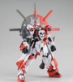 GUNDAM GUY: 1/144 Wingless Skull Gundam - Custom Build