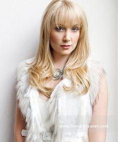MAURICE MEADE Blonde weiblich Gerade Farbige Lange Australian Womens Frisuren hairstyles