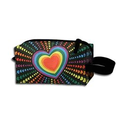 Rainbow Loves Flag Zipper Handbag Pouch Organizer Bag For Toiletries Cosmetics And Make Up Popular *** Details can be found by clicking on the image. (This is an affiliate link) #KitchenCabinetsMakeover