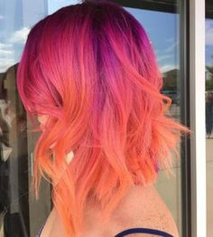 Would you try this color?? Yes or no? @xostylistxohttp://www.qunel.com/ fashion street style beauty makeup hair men style womenswear shoes jacket