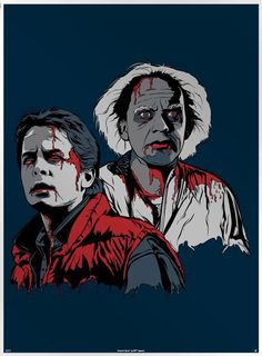 Zombie Marty McFly and Doc!!