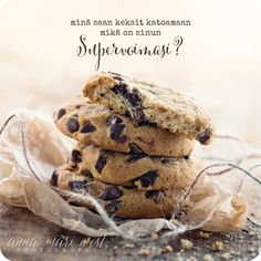 Kortit Archives - Page 2 of 12 - Anna-Mari West Photography Cookies, Chocolate, Baking, Breakfast, Desserts, Anna, Food, Quotes, Photography