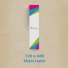 Créer bannières publicités 120x600px