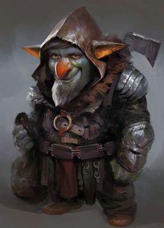 ArtStation - Goblin, Yuan Cui