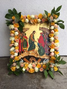 The Icon of the Resurrection during Holy Week 2014. St. Paul's Greek Orthodox Church, Irvine, Ca