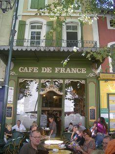 Café de France, l'Isle sur la Sorgue
