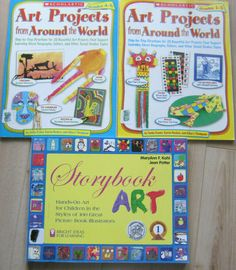 STORYBOOK ART PROJECTS FROM AROUND THE WORLD teacher childrens book activities Earth Day Activities, Creative Activities, Science Activities, Science Projects, Projects For Kids, Art Projects, Everyday Mathematics, Handwriting Activities, World Teachers