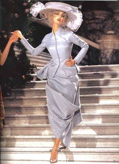 John Galliano for Christian Dior Haute Couture, Spring/Summer 1998 (via Mode et Mode)