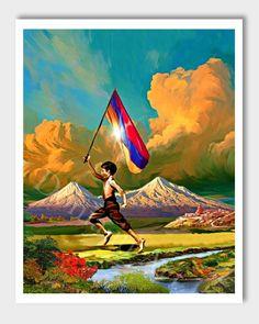 Armenian Independence Day, Armenia, Armenian #art #print #digital @EtsyMktgTool http://etsy.me/2vD0HrF
