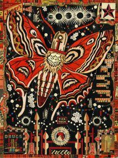 Tony Fitzpatrick Art