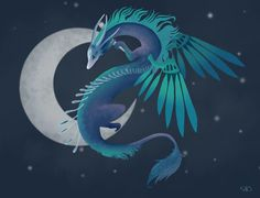 I designed the Character Design Challenge page for March's monthly theme. Northern light dragon or Moon dragon. Monthly Themes, Northern Lights, My Design, Character Design, Dragon, Cards, Challenge, Moon, Illustrations