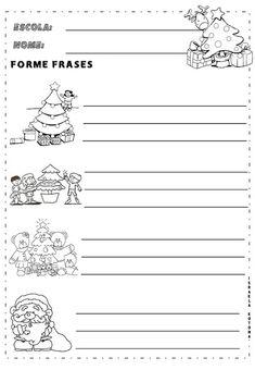 Educação infantil facil: 2020 Atv, How To Make, Christmas Activities, Reading Activities, Kids Learning Activities, Mtb Bike, Atvs