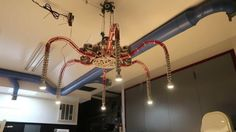"Tentacle robot lamp ( ""jimmydiresta"" on YouTube )"