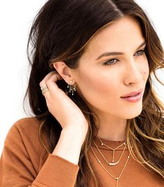 Candice Shimmer Ear Jacket - Jewelry