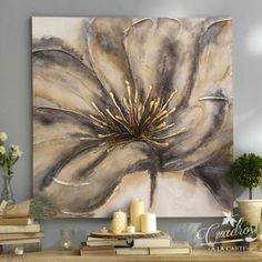 Contemporary Painting – Just what is it? – Buy Abstract Art Right Abstract Canvas Art, Diy Canvas Art, Texture Art, Texture Painting, Acrilic Paintings, Art Paintings, Gold Leaf Art, Painting Inspiration, Flower Art