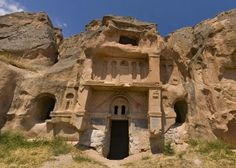 underground cities caves and churches in turkey - Google Search (Reminds you of Petra!)
