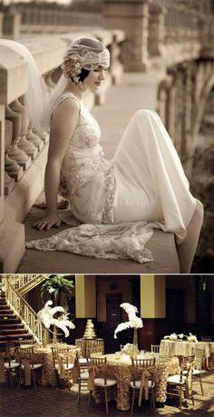 Roaring Twenties Wedding Inspiration